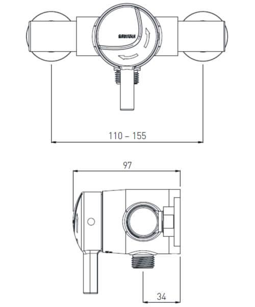 Technical drawing 32013 / MINI2 TS1203 EL C