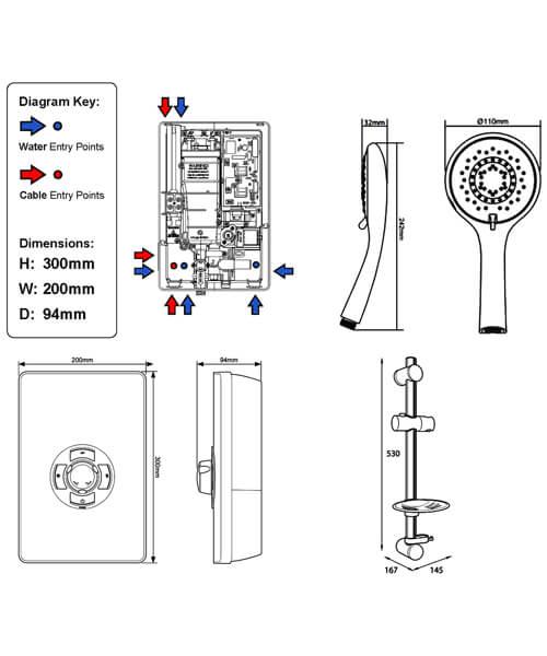 Technical drawing 11765 / ASP09BRSTL