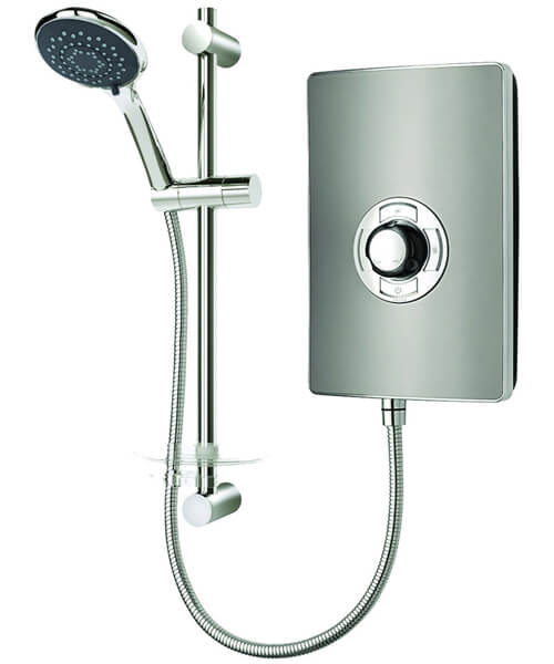 Additional image of Triton Aspirante 9.5 KW Brushed Steel Electric Shower