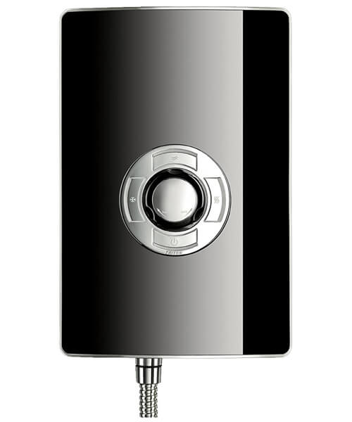 Alternate image of Triton Aspirante 9.5 KW Brushed Steel Electric Shower