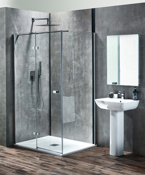 Frontline Piccolo 570mm 1 Tap Hole Basin With Full Pedestal