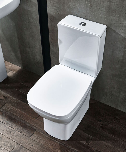 Additional image of Frontline Piccolo 625mm Close Coupled Toilet With Soft Close Seat
