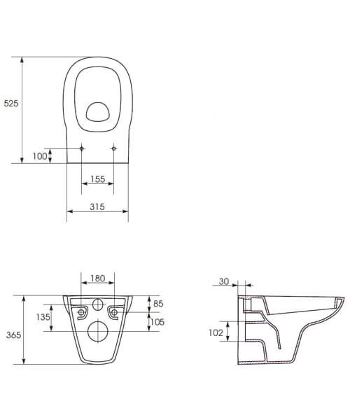 Technical drawing 59119 / ULFAWHPAN