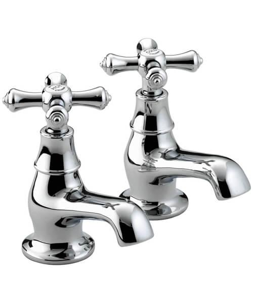 Bristan Colonial Chrome Pair Of Bath Taps