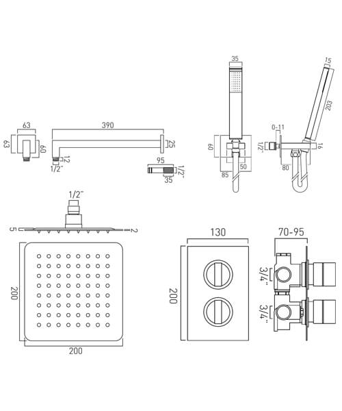 Technical drawing 59112 / DX-172251-NOT-CP