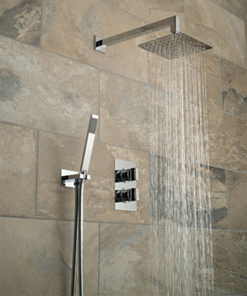 Additional image of Vado Notion Thermostatic Shower Valve With Shower Kit