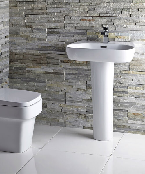 Additional image of Frontline Medici 600mm Close Coupled Toilet With Soft Close Seat