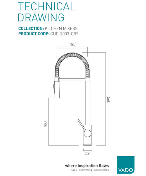 Technical drawing 41233 / CUC-3003-C/P
