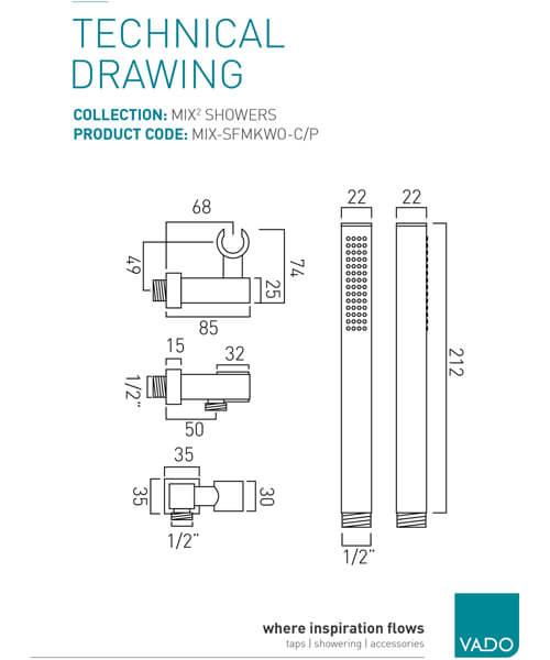 Technical drawing 19685 / MIX-SFMKWO-C/P