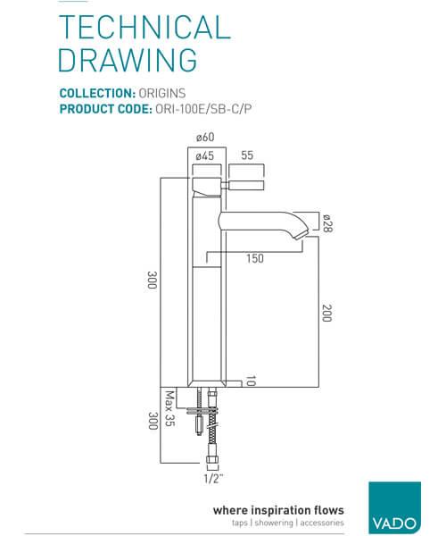 Technical drawing 24648 / ORI-100E/SB-C/P
