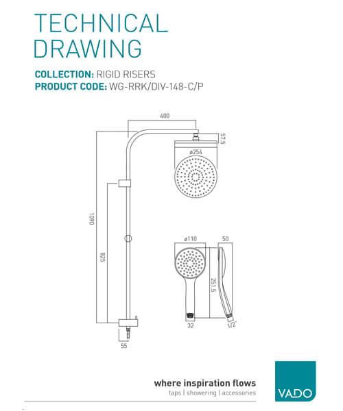 Technical drawing 32067 / WG-RRK/DIV-148-C/P