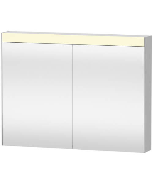 Duravit 760mm Height Double Mirror Cabinet With Switch-Plug Unit