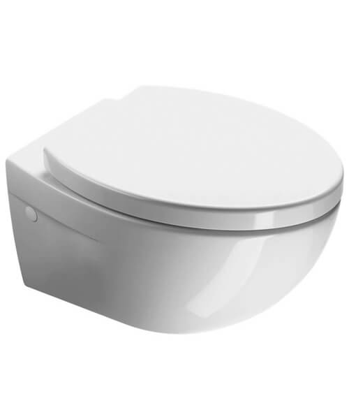 Saneux Poppy 550mm Projection Wall Mounted WC Pan