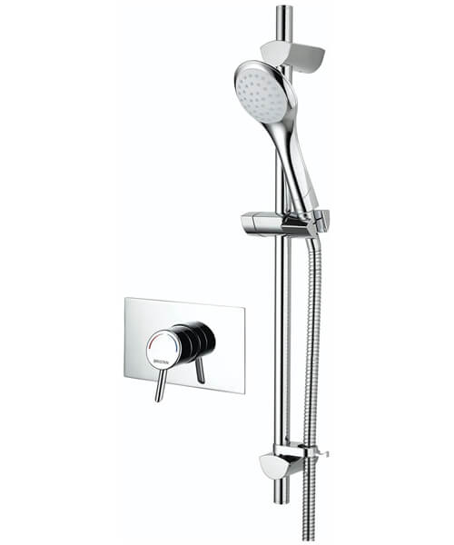 Bristan Acute Recessed Shower Valve With Riser Rail