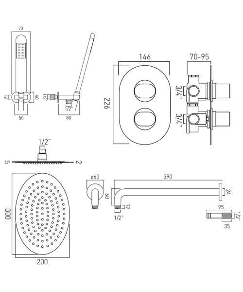 Technical drawing 59109 / DX-172251-LIF-CP
