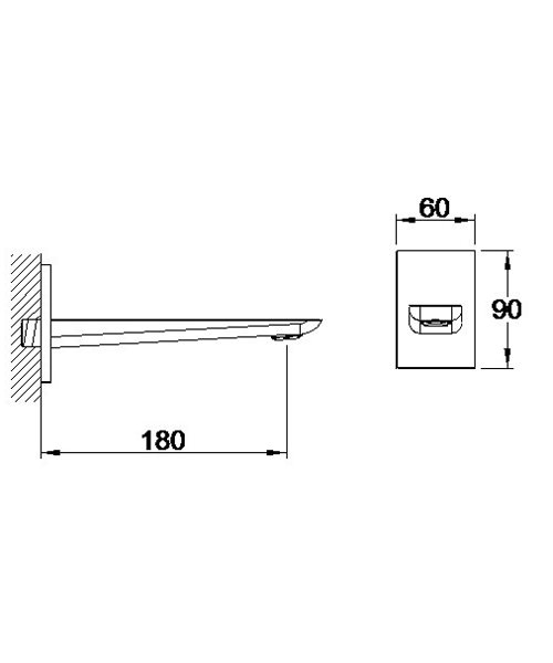 Technical drawing 60116 / S858-6100