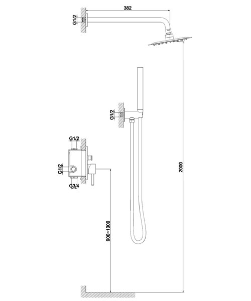 Technical drawing 60126 / S917-2101