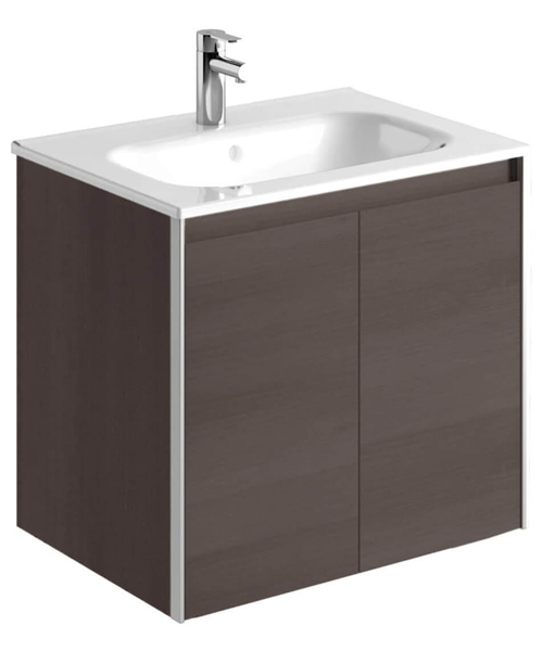 Additional image of Frontline Royo Valencia 600mm 2 Door Wall Hung Vanity Unit With Basin