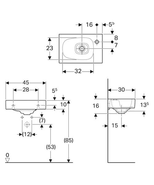 Technical drawing 61525 / 500.541.01.1