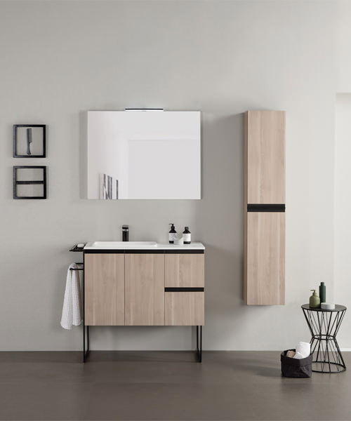 Frontline Royo Structure 300mm Wall Mounted Vanity Unit