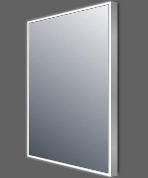 Frontline Line 600 x 800mm Aluminium Framed Rectangular LED Mirror