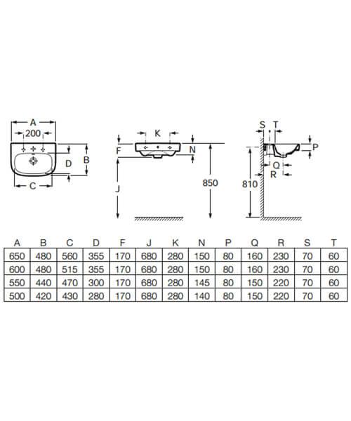 Technical drawing 46006 / 32599600U