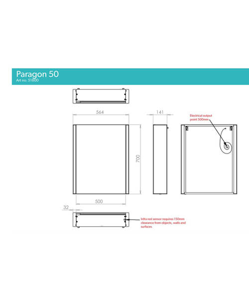 Technical drawing 60521 / 51800