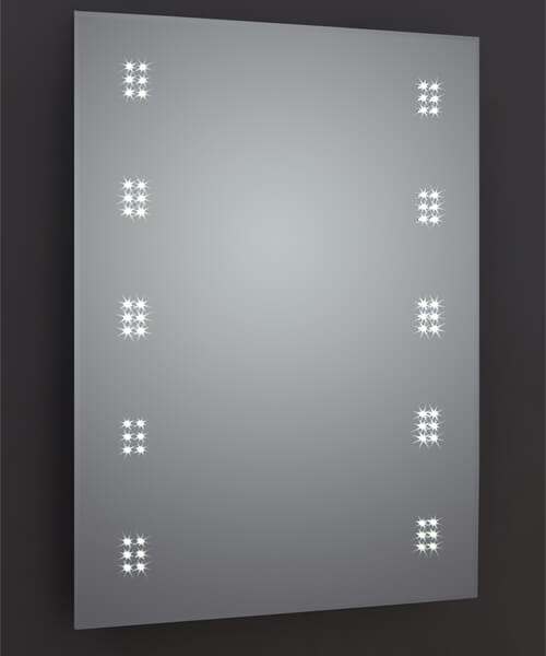 Frontline Alpha 500 x 700mm LED Mirror With Touch Sensor And Shaving Socket