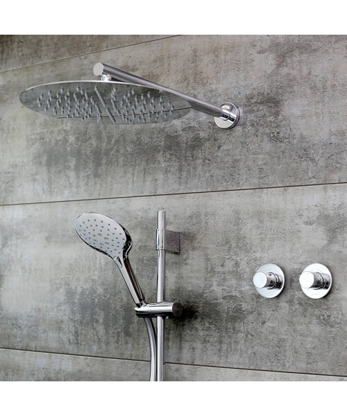 Bristan ORB Fixed Head Shower Pack