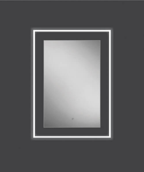 Additional image of HIB Element 50 LED Illuminated Mirror 500 x 700mm