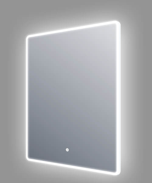 Frontline Sleek 600 x 800mm LED Mirror With Touch Sensor And Demister