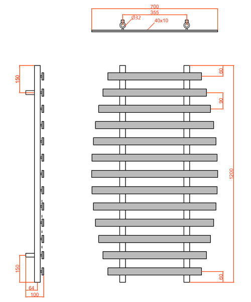 Technical drawing 59400 / LMNRSAMBAC
