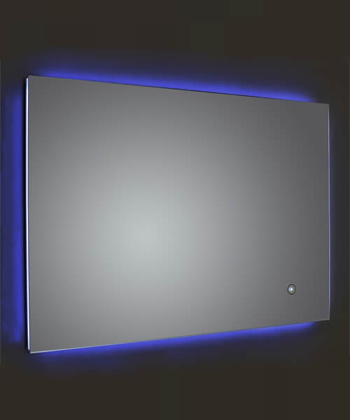 Frontline Lumiere 700 x 500mm LED Mirror With Touch Sensor And Demister Pad