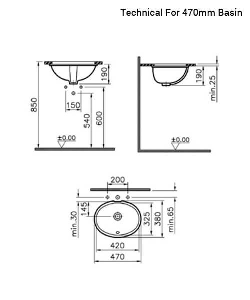 Technical drawing 26607 / 6039B003-0012