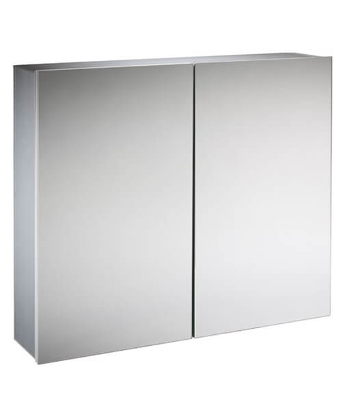 Alternate image of Tavistock Balance Aluminium Single Mirror Door Cabinet - W 440 x H 650mm
