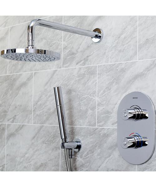 Bristan Artisan Shower Pack With Single Function Handset - ARTISAN SHWR PK