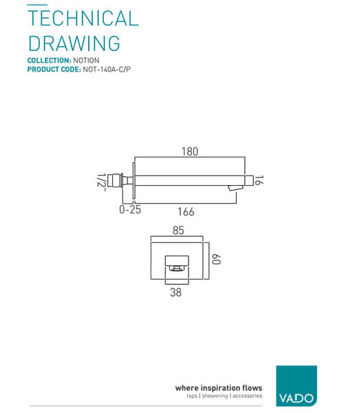Technical drawing 61013 / NOT-140A-C/P