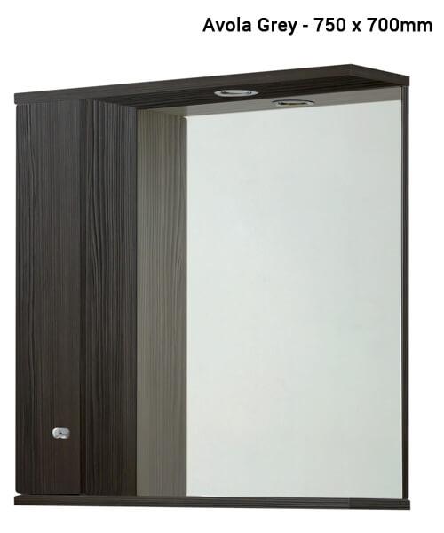 Alternate image of Frontline Aquapure Illuminated Mirrored Cabinet