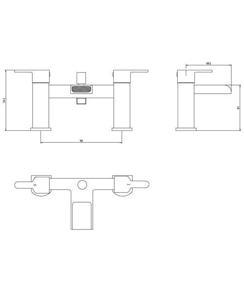 Technical drawing 60147 / BIQMO01