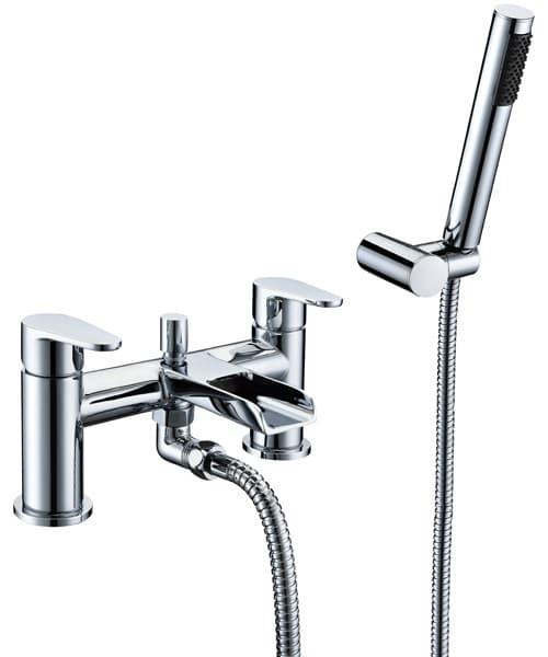 Frontline Aquaflow Ballini Waterfall Bath Mixer Shower Tap