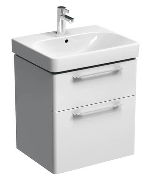 Geberit Smyle Two Drawers Washbasin Unit