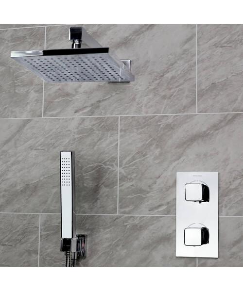 Bristan Cobalt Fixed Head Shower Pack