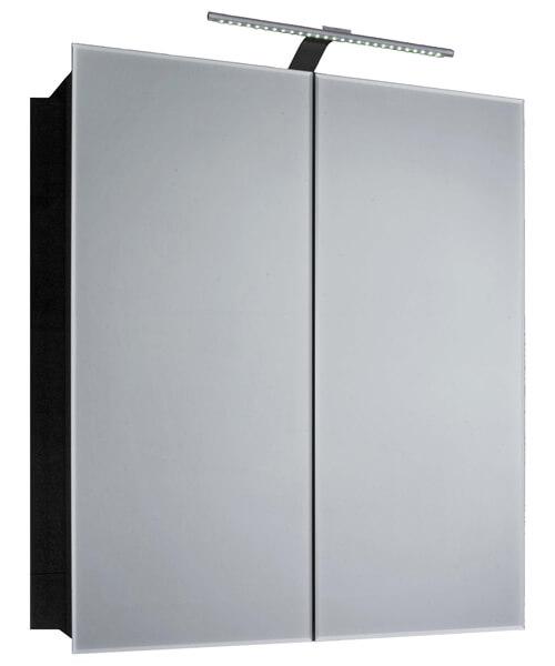 Frontline Howden Double Door Mirrored Cabinet