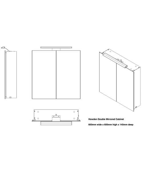Technical drawing 62034 / BEJOKEY-6060