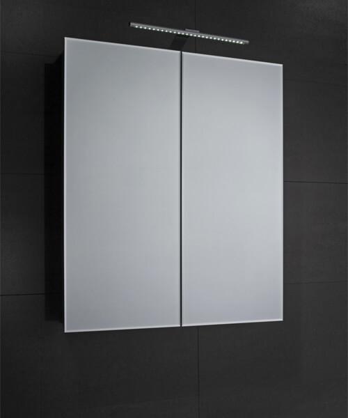 Additional image of Frontline Howden Double Door Mirrored Cabinet