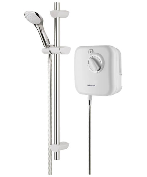 Bristan Hydropower Thermostatic White 1000 XT Power Shower