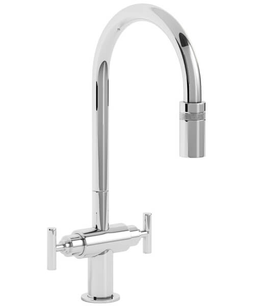 Abode Avior Contemporary Pull Out Kitchen Tap