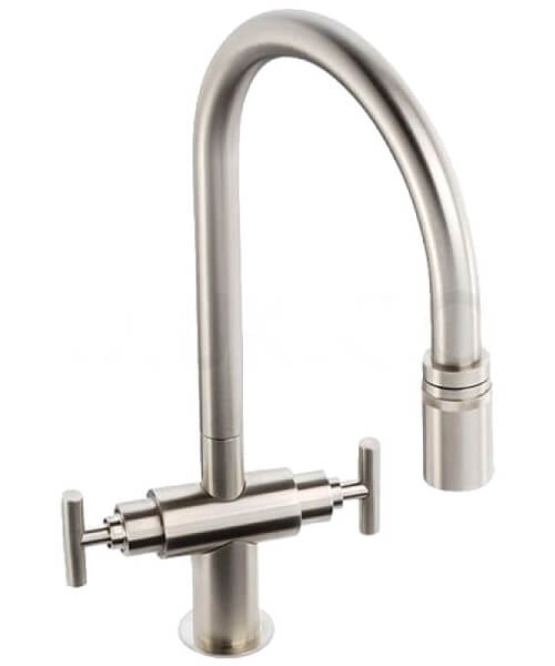 Additional image of Abode Avior Contemporary Pull Out Kitchen Tap