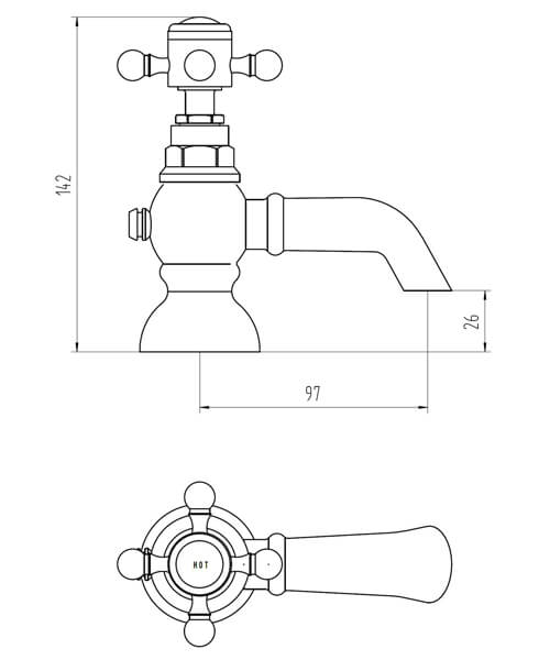 Technical drawing 62056 / BIQED05