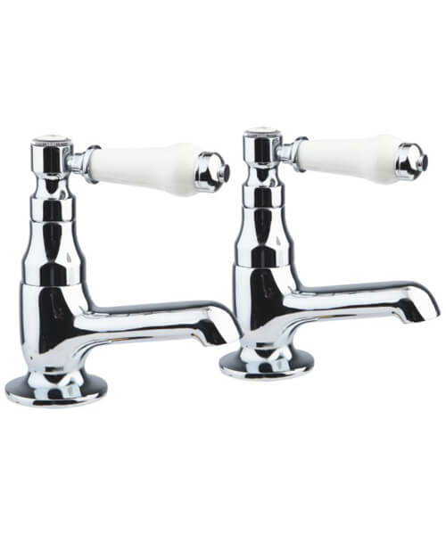 Frontline Holborn Lever Pair Of Bath Taps